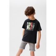 Mango Kids - Tricou copii Life 110-164 cm