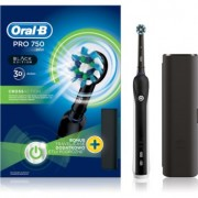 Oral B Pro 750 D16.513.UX CrossAction escova de dentes eléctrica com estojo
