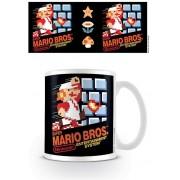 Pyramid Super Mario - NES Cover Mug