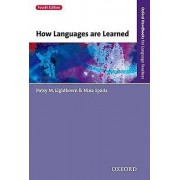 How Languages are Learned by Patsy M. Lightbown & Nina Spada