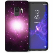 Husa Caseflex Space Shining Light pentru Samsung Galaxy S9