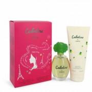 Cabotine For Women By Parfums Gres Gift Set - 3.4 Oz Eau De Toilette Spray + 6.7 Oz Body Lotion --