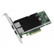 Intel Tarjeta PCI Express X540-T2, Alámbrico, 2x RJ-45, 10.000 Mbit/s
