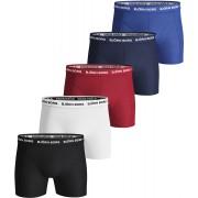 Bjorn Borg Boxershorts 5er-Pack Solids - Multicolour Größe XXL
