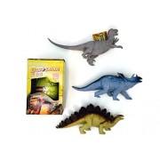 Dinosaur Stegosaurus Giant Egg Bundle Multi Toy Dinosaurs Clade-Gravim Growing Hatching Egg Easter