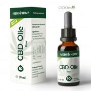 Medihemp CBD Olie Raw 10% CBD, 30 ml.