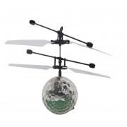 EH Infrarrojo Inducción Flying Flash Disco Colorido De La Bola LED Helicóptero De Juguete Para Niños