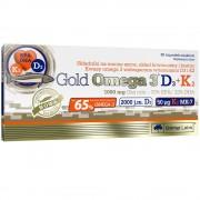 Olimp Gold Omega 3 D3 + K2 30 kapszula