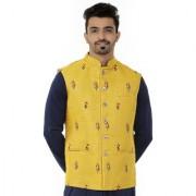 Aespen modi jacket/nehru jacket/ethnic wear for men traditional/kurta jackets/waist coat/koti for men maroon/Red color