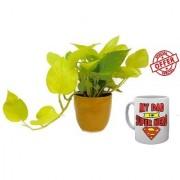 ES BEST GOLDEN PLANT With Freebies Mug