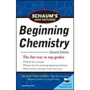 Schaum's Easy Outline of Beginning Chemistry, Second Edition, Paperback (2nd Ed.)/David E. Goldberg