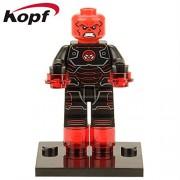 Generic 50Pcs X0109 Super Heroes Wolverine Iron Man Red Skull Captain America Winter Soldier Bricks Building Blocks Toys for Children 229 50Pcs