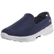 Skechers Men's Go Walk 3 Navy Nordic Walking Shoes - 9 UK/India (43 EU) (10 US)
