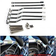 GZYF Chrome Saddlebag Support Bars For Suzuki Boulevard C50 M50 Intruder Volusia VL800
