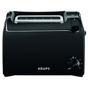 Krups ProAroma KH 1518 - Grille-pain - 2 tranche - 2 Emplacements - noir