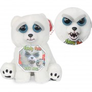 Peluche Con Cara Cambiable Feisty Pets E-Thinker FP013-Snow