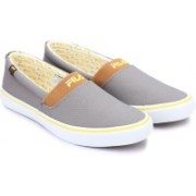 Fila Canvas Shoes For Men(Grey)