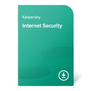 Kaspersky Internet Security – 1 година, нов абонамент За 3 устройства, електронен сертификат