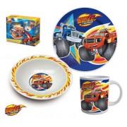 Set mic dejun 3 piese ceramica Blaze