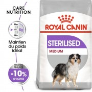 Royal Canin Care Nutrition 10kg Medium Adult Sterilised Royal Canin Croquettes pour chien
