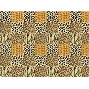 Animal mix Telo mare microfibra 95x175 cm