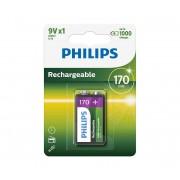 Philips 9VB1A17/10 - Baterie reincarcabila MULTILIFE NiMH/9V/170 mAh