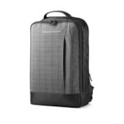 "HP Slim Carrying Case (Backpack) for 39.6 cm (15.6"") Ultrabook - Black, Grey"