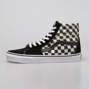 Vans Sneakers buty Vans SK8-Hi Blur Check black / classi (VN0A38GEVJM1)