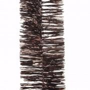 Geen Kerst bruine folieslinger Cosy Christmas 270 cm