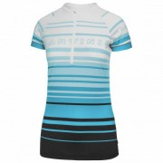 Martini - Women's Lucky Punch - Maillot de cyclisme taille M, gris/turquoise/noir