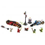 Lego Moto Acuchilladora de Kai y Motonieve de Zane