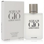 Acqua Di Gio For Men By Giorgio Armani Eau De Toilette Spray 3.3 Oz
