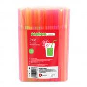 Set 250 Paie Flexibile, 240x5 mm, Diverse Culori Fluorescente, Paie de Baut din Plastic, Paie Plastic pentru Sucuri, Paie de Baut pentru Bar, Paie din Plastic, Paie Catering, Paie pentru Petreceri, Accesorii pentru Bar