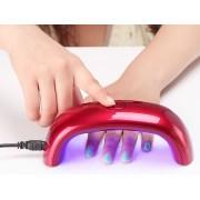 Forno Secador Unhas UV Portátil Baixo Consumo USB