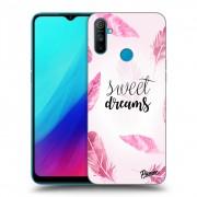 Átlátszó szilikon tok az alábbi mobiltelefonokra Realme C3 - Sweet dreams