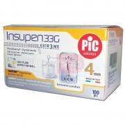 Artsana Pic Insupen 4mm 33g - 100 Aghi Sterili Per Penna Da Insulina - Extreme Comfort