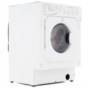 Indesit IWDE126 Integrated Washer Dryer - White