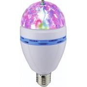 LED Party-lamp Renkforce E27 PARTYLAMP 1 W Meerkleurig Aantal lampen: 3