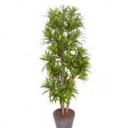 Bellatio flowers & plants Groene dracaena reflexa binnenplant, kunstplanten 120 cm voor binnen - Kunstplanten