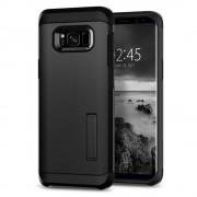 Spigen Tough Armor Case - хибриден кейс с най-висока степен на защита за Samsung Galaxy S8 Plus (черен)