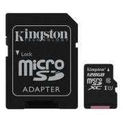Kingston microSDXC Canvas Select 80R CL10 UHS-I +SD, 128GB