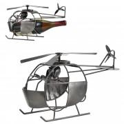 Поставка за вино [en.casa]®, Хеликоптер, 34,5 x 13,5 x 20 cm