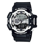 Casio G-Shock Black & White Ana-Digital Watch GA400-1A