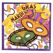 Mardi Gras Luncheon Napkins 20/Pkg.