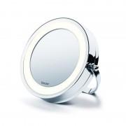 Oglinda cosmetica cu iluminare Beurer, LED, 11 cm, marire 5x