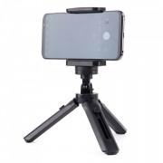 Мини триножник със стойка за селфи стик - GoPro черен
