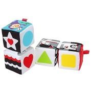 Fisher-Price puha oktató játékkockák