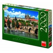 Dinotoys Dino Toys Toys561014 Prague Castle Puzzle (2000-Piece)