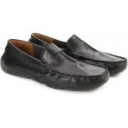 Clarks Ashmont Race Black Smooth Men Loafers For Men(Black)