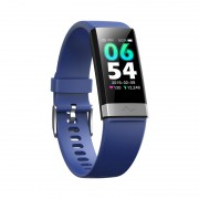 CSVO 1.14-inch Colorful Display Bluetooth Smart Watch Wristband with Sleeping/Heart Rate/Blood Pressure Monitor - Blue
